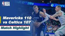 Berita Video Highlights NBA, Dallas Mavericks Kalahkan Boston Celtics 110-107 (24/2/2021)