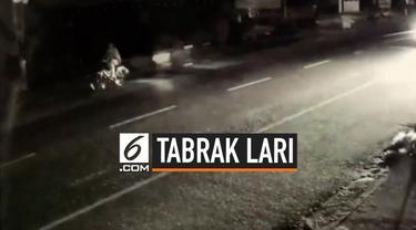 Sebuah video berisi tayangan peristiwa tabrak lari antara motor dan sepeda di Thailand. Motor tersebut sempat berhenti namun kemudian kembali menancap gas dan meninggalkan pengendara sepeda.