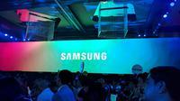 Peluncuran Samsung Galaxy A9 dan A7 di 4x Fun, Kuala Lumpur, Malaysia. Liputan6.com/Jeko Iqbal Reza