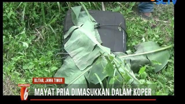 Jasad pria dalam koper yang ditemukan di Blitar, diketahui seorang guru tari dan dikenal sebagai sosok yang ramah juga tak punya musuh.