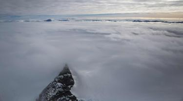 Pegunungan Es Antartika