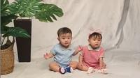 Momen Pemoteratan Zayn dan Zunaira Anak Syahnaz Sadiqah. (Sumber: Instagram.com/syahnazs)
