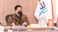 Ketua Pelaksana Komite Penanggulangan COVID-19 dan Pemulihan Ekonomi Nasional Erick Thohir pastikan 1,5 juta tenaga kesehatan disuntik vaksin COVID-19 awal 2021 saat bertemu IDI di Kantor Kementerian BUMN, Jakarta, Rabu (3/9/2020). (Dok Tim Komunikasi Komite Penanganan COVID-19)