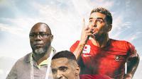 Ilustrasi Pemain - Beto Goncalves, Cristian Gonzales, Jacksen F. Tiago (Bola.com/Adreanus Titus)