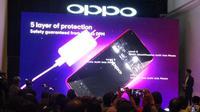 Oppo Indonesia secara resmi merilis Oppo F9 di Indonesia, Kamis (23/8).
