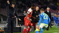 Pelatih Arsenal, Unai Emery. (AFP/Andreas Solaro)