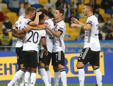 Bungkam Ukraina, Jerman Raih Kemenangan Perdana di UEFA Nations League