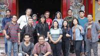 Kurang lebih sebanyak 10 pemuda lintas iman terjun langsung membangun dialog keberagaman Indonesia Bersatu melalui kunjungan ke berbagai tempat ibadah di Purwokerto.