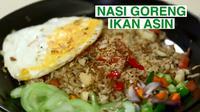 Nasi Goreng Ikan Asin (dok. Vidio.com/Masak.tv)