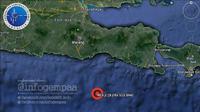 Gempa berkekuatan 6,2 SR mengguncang Malang, Jawa Timur dan sekitarnya   foto : twitter