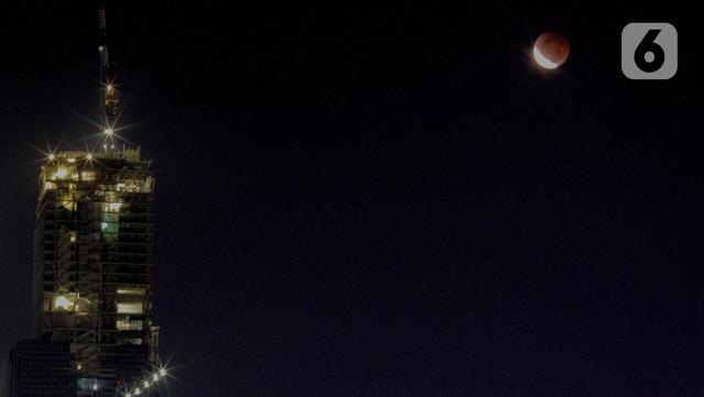 Gerhana Bulan dari Petamburan