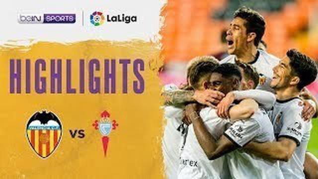 Berita video highlights Liga Spanyol, Valencia kalahkan Celta Vigo 2-0, Minggu (21/2/21)
