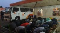 Salah satu Mobile Masjid yang berada di depan Hall 2 GIIAS 2018 (Liputan6.com/Yurike)