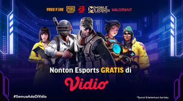 Nonton Live Streaming Turnamen Esports Indonesia Gratis di Vidio