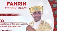 Fajrin, Wakil Maluku Utara di LIDA (Twitter/ Indosiar)