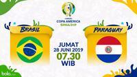 Copa America 2019 - Brasil Vs Paraguay (Bola.com/Adreanus Titus)