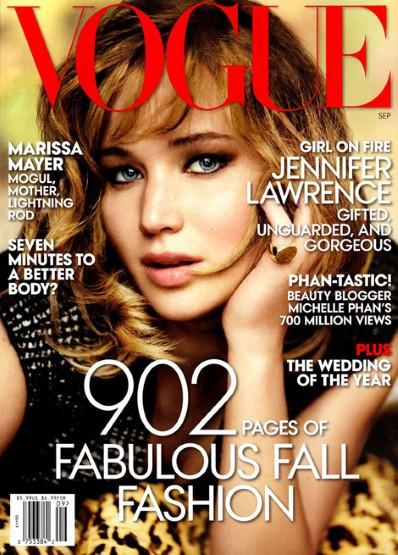 Jennifer Lawrence, Vogue US