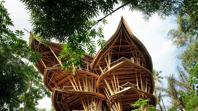 103+ Gambar Rumah Dari Bambu Terbaru