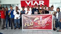 Flobamora Viar Owner Cross Rider (Flover) sebagai komunitas pengguna Viar Cross X di wilayah Nusa Tenggara Timur mendeklarasikan diri. (VMI)