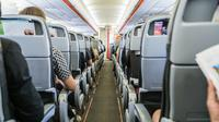 Ilustrasi kursi pesawat (iStockphoto)