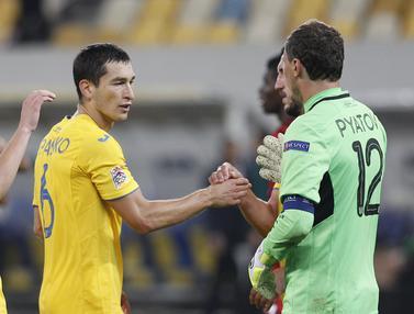Hajar Swiss, Ukraina Pimpin Klasemen Sementara Grup A4 Nations League