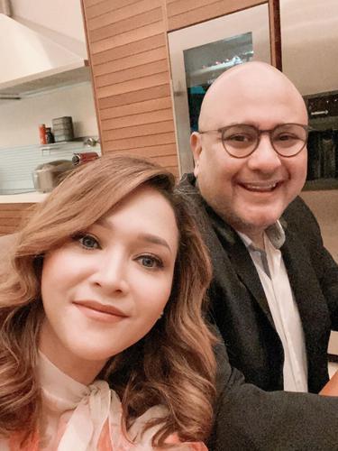 Maia Estianty dan Irwan Mussry. (Foto: Instagram @maiaestiantyreal)