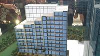 Apartemen mewah La Terrase besutan Cowell Development.(Foto: Septian Deny/Liputan6.com)