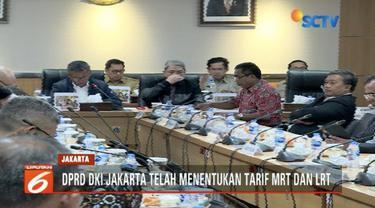 Setelah resmi beroperasi, DPRD DKI Jakarta tetapkan tarif operasional MRT Jakarta sebesar Rp 8.500.
