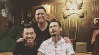 Anang Hermansyah mengadakan pertemuan dan berdamai dengan Jerinx SID di Sanur, Bali, Senin (18/2/2019) (Istimewa)