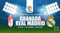 GRANADA VS REAL MADRID  (Liputan6.com/Abdillah)