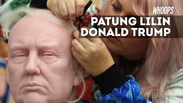Rencananya masyarakat sudah bisa menikmati patung ini saat Trump dilantik pada 20 Januari 2017.