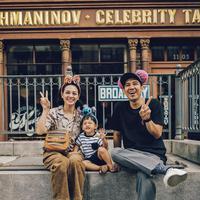 Andien Aisyah bersama keluarga kecilnnya. (Foto: instagram.com/andienaisyah)