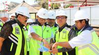 Pembangunan pekerjaan pengembangan fasilitas Bandar Udara I Gusti Ngurah Rai untuk mendukung IMF-WBG Annual Meeting 2018 telah melewati hampir keseluruhan tahapan pembangunan.