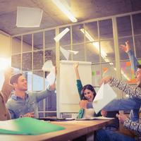 Ilustrasi kantor dan tempat kerja. (iStockphoto)