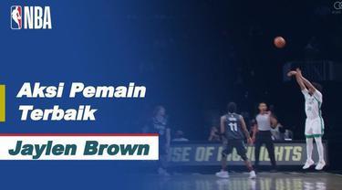 Berita Video Melihat Aksi Jaylen Brown Saat Boston Celtics Kalahkan Orlando Magic di NBA Hari Ini