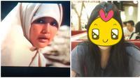 Potret terbaru pemeran Annisa muda di film 'Perempuan Berkalung Sorban'. (Sumber: Instagram/@abigailnasha)