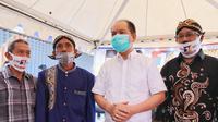 Paslon Ben-Ujang mendapat dukungan komunitas Jawa di Katingan. (Foto: Istimewa)