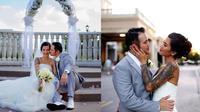 Pernikahan Tiga Setia Gara 9Sumber: Instagram/tigawat)