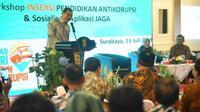 Roadshow Bus KPK 2019 'Jelajah Negeri Bangun Antikorupsi'  digelar di Surabaya selama tiga hari (Foto:Liputan6.com/Dian Kurniawan)