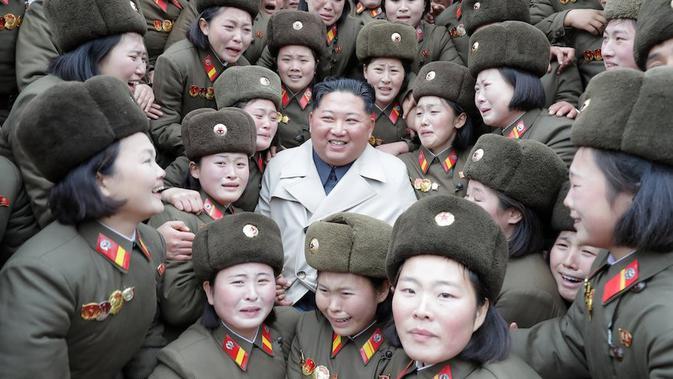 Kim Jong Un Terus Tembakkan Rudal Di Tengah Pandemi Corona Covid 19 Global Liputan6 Com