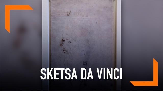 Sebuah sketsa diidentifikasi sebagai Leonardo Da Vinci dan dipamerkan oleh Royal Collection Trust. Sebagai peringatan 500 tahun kematian Da Vinci. Seniman ini diketahui hanya memiliki satu potret sepanjang hidup.