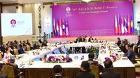 KTT ASEAN ke-34 di Bangkok, 22 Juni 2019 (kredit: Sekretariat Presiden RI)