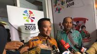 Menjelang Asian Games 2018, Kementerian Pemuda dan Olahraga (Kemenpora) mengelar 'Doa dan Dukung Sukses Atlet Indonesia'.