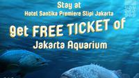 Dengan menginap di Hotel Santika Premiere Slipi Jakarta, Anda dapat memiliki tiket premium di Jakarta Aquarium secara gratis.