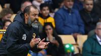 Manajer Wolverhampton Wanderers, Nuno Espirito Santo. (AFP/CreditGEOFF CADDICK)