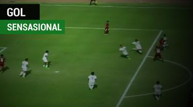 Timnas U-19 akhirnya lolos ke semi Final AFF setelah mengalahkan Brunei 8-0.
