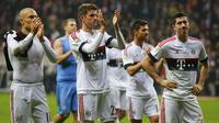 Bayern Munchen gagal memperpanjang rekor kemenangan mereka di Bundesliga usai ditahan imbang 0-0 oleh Eintracht Frankfurt.