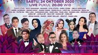 Semarak Indosiar tayang Sabtu (24/10/2020) pukul 20.00 WIB dengan menyapa pemirsa di Bandung dan sekitarnya