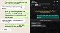 6 Chat Cari Kos Putri Ini Penuh Drama, Bikin Elus Dada (sumber: Twitter/sosmedkeras)