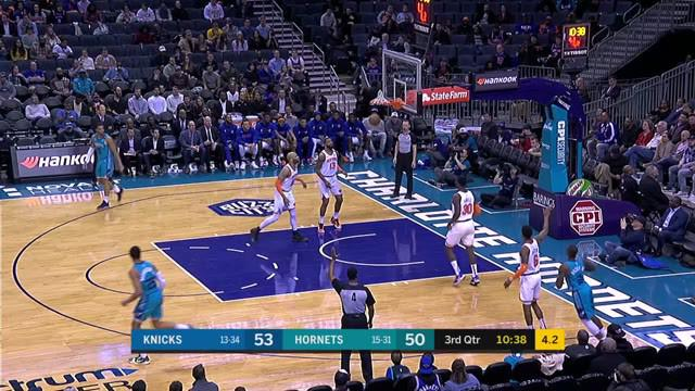 Berita Video Highlights NBA 2019-2020, Charlotte Hornets Vs New York Knicks 97-92